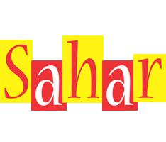 Sahar errors logo