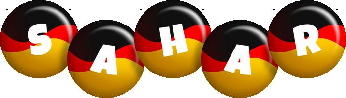 Sahar german logo