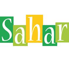 Sahar lemonade logo
