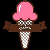 Sahar premium logo