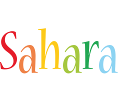 Sahara birthday logo