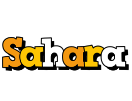 Sahara cartoon logo