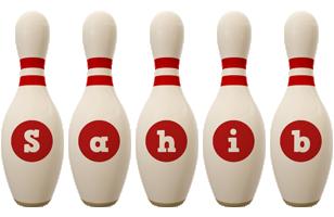 Sahib bowling-pin logo