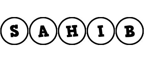 Sahib handy logo