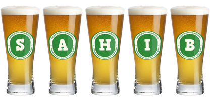 Sahib lager logo