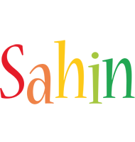 Sahin birthday logo