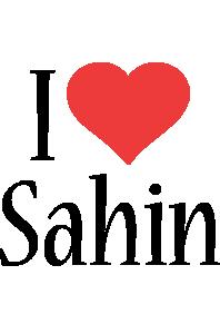 Sahin i-love logo