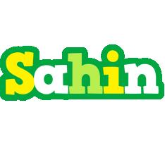 Sahin soccer logo
