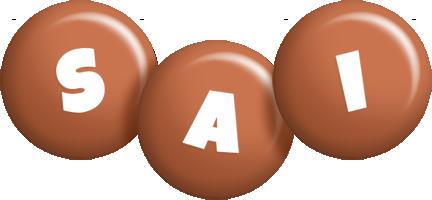 Sai candy-brown logo