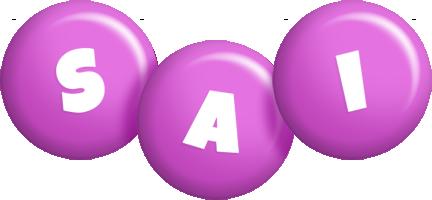 Sai candy-purple logo