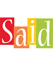 Said colors logo