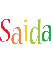 Saida birthday logo