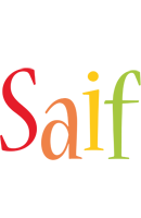 Saif birthday logo