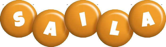 Saila candy-orange logo