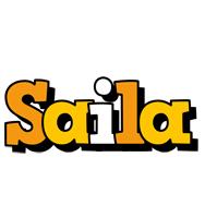 Saila cartoon logo