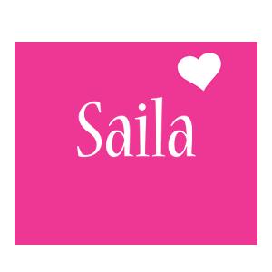 Saila love-heart logo