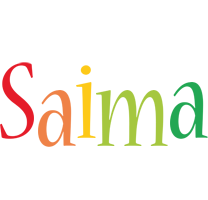 Saima birthday logo