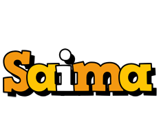 Saima cartoon logo