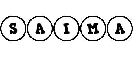 Saima handy logo