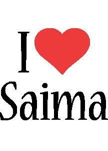 Saima i-love logo