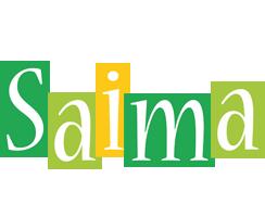 Saima lemonade logo