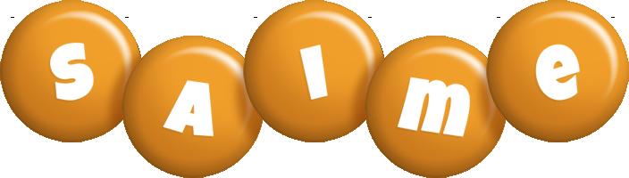 Saime candy-orange logo