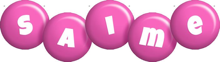 Saime candy-pink logo