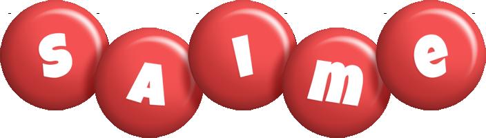 Saime candy-red logo