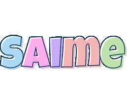 Saime pastel logo