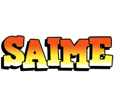 Saime sunset logo