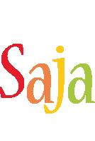 Saja birthday logo