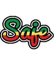 Saje african logo