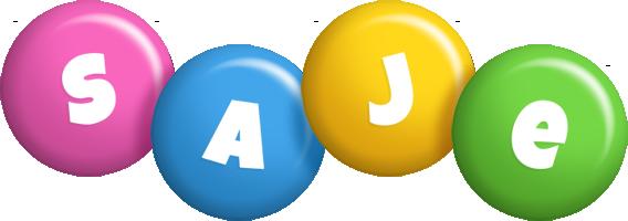 Saje candy logo