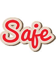 Saje chocolate logo