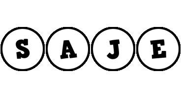 Saje handy logo