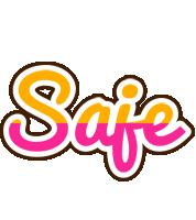 Saje smoothie logo