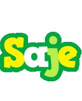 Saje soccer logo