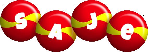 Saje spain logo