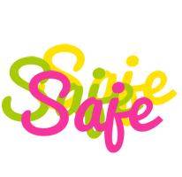 Saje sweets logo