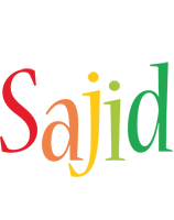 Sajid birthday logo