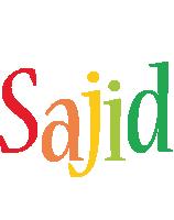 Sajid birthday logo