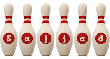 Sajjad bowling-pin logo