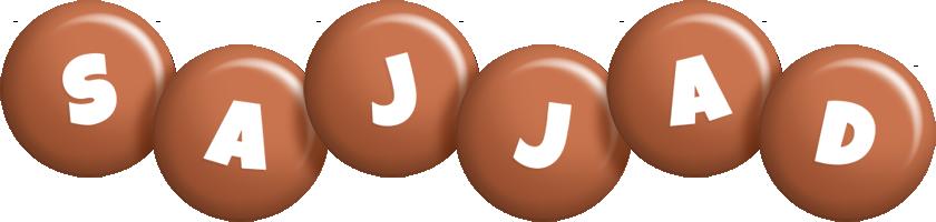 Sajjad candy-brown logo