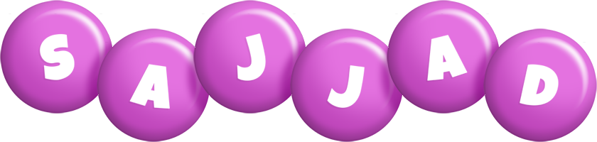 Sajjad candy-purple logo