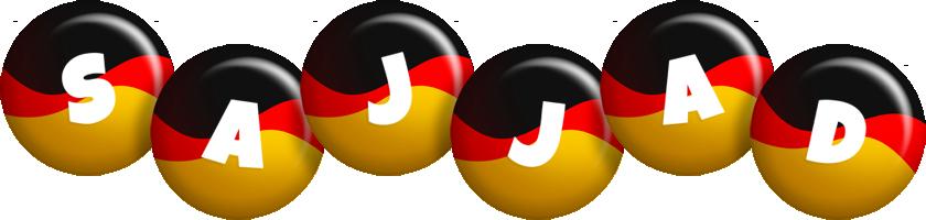 Sajjad german logo