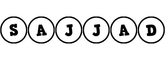 Sajjad handy logo