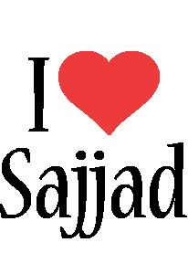 Sajjad i-love logo