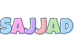 Sajjad pastel logo