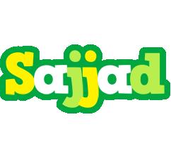 Sajjad soccer logo