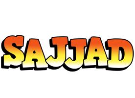 Sajjad sunset logo